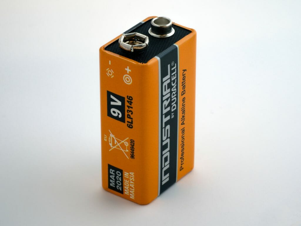 Picture showing a battery