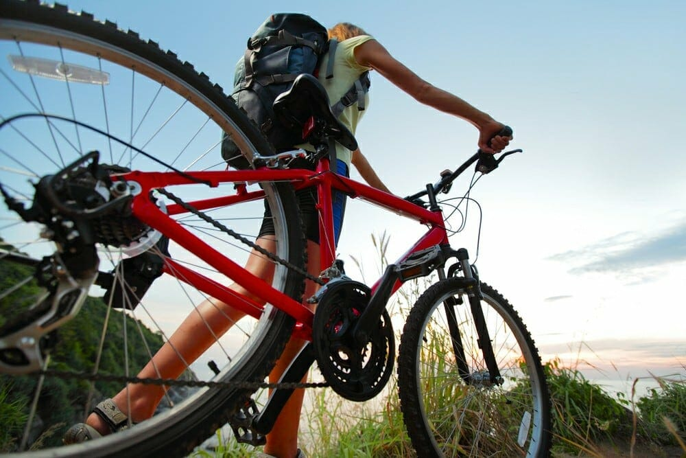 A picture showing a cross country MTB