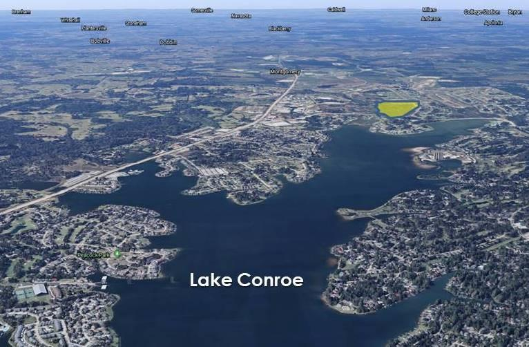 A picture showing LAKE CONROE