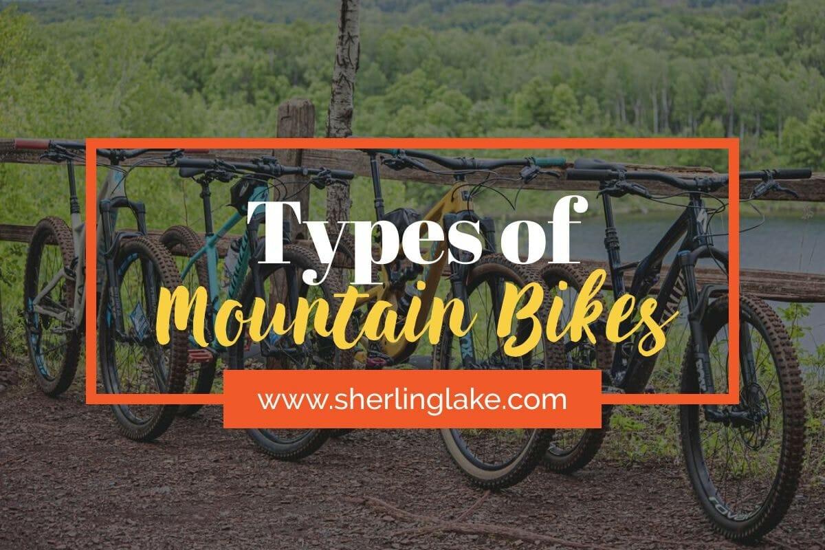 Types of Mountain Bikes Cover