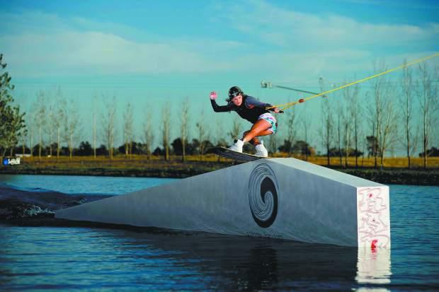 Best Wakeboarding Lakes in California: WAKE ISLAND